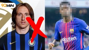 """Hụt vụ Modric, Inter quay sang """"hút máu"""" Barcelona"""
