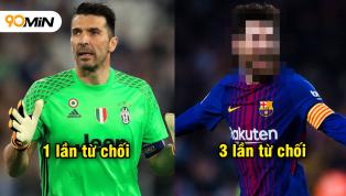 5 huyền thoại vĩ đại thẳng thừng từ chối gia nhập Real Madrid