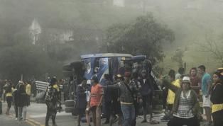 El testimonio de uno de los sobrevivientes del accidente de bus de los hinchas de Barcelona SC