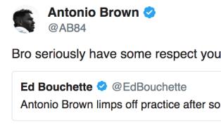 Antonio Brown Blasts Reporter in NSFW Tweet for Spreading Fake News