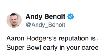 NFL Analyst Takes Random and Useless Shot at Aaron Rodgers