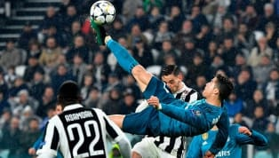 Cristiano Ronaldo's Goal Against Juventus is one of 11 Incredible Candidates for UEFA Award