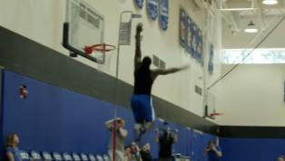VIDEO: Duke Measuring Zion Williamson's Vertical is Classic Blue Devil Self-Indulgence