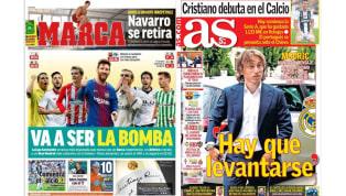 El Barcelona, favorito en La Liga y la nueva era merengue en las portadas españolas