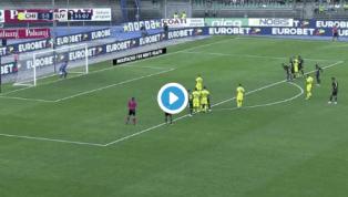 VIDEO   Chievo Verona 2-1 Juventus: ecco il gol del vantaggio clivense realizzato da Giaccherini