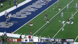 VIDEO: Dak Prescott Rolls Out and Hits Terrance Williams for 6-Yard TD