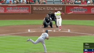 VIDEO: Marcell Ozuna Launches Massive Home Run to Start Cardinals Rally