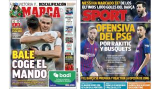 El triunfo merengue y los jugadores culés que quiere el PSG en las portadas