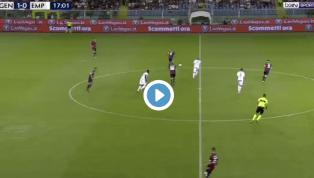 VIDEO | Genoa 2-0 Empoli: ecco la rete di Kouame per il raddoppio rossoblu