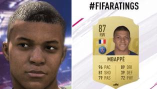 Kylian Mbappe Beats Messi, Ronaldo & Neymar to Receive Fastest Speed Rating on FIFA 19