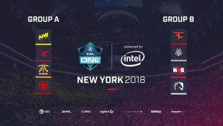 ESL Reveals Groups for ESL One New York
