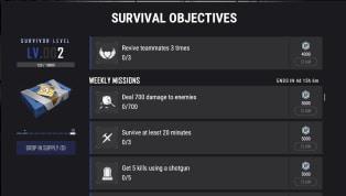 Survival Objectives - Skin khủng cho những người chơi chăm chỉ