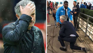 Jose Mourinho Jokes His Fall at Wembley Was to Give the Media News During the International Break