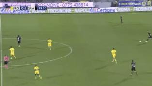 VIDEO   Frosinone 0-3 Sampdoria: ecco il gol di Defrel per il tris blucerchiato