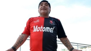 ESPECTACULAR | El homenaje de un jugador de Newell's para Diego Maradona