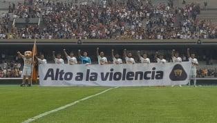 ¡NO MÁS GUERRA!   Pumas pidió frenar la violencia que se vive en la UNAM