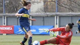 TE VA A DOLER   El tremendo planchazo en el Superclásico del fútbol femenino