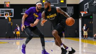 REVELADO: LeBron ya se uniformó en sus primeras prácticas oficiales con los Lakers