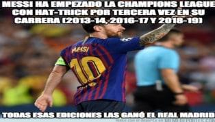 Los mejores 'memes' de las victorias del Barça y el Atlético, la exhibición de Messi y más