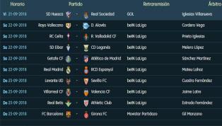 Todos los partidos y horarios de la 5ª jornada de LaLiga Santander