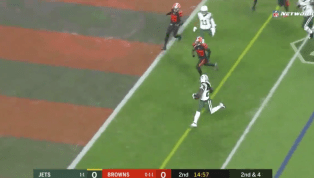 VIDEO: Isaiah Crowell Scores Twice to Give the Jets Big Lead Over Browns