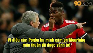 Pogba bất ngờ gửi lời CẢM ƠN tới Mourinho, sáng tỏ mọi mâu thuẫn!