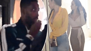 VIDEO: Tristan Thompson Reportedly Seen Leaving Club With Two Women Months After Cheating Scandal