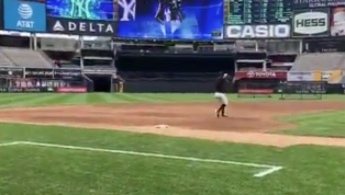 VIDEO: Scuffling Greg Bird Spotted Taking Ground Balls at Third Base