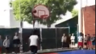 VIDEO: Shaq's 15-Year-Old Monster Son is Already Dunking Over Adults