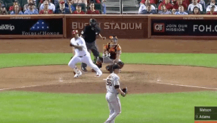 VIDEO: Matt Adams Pounds Stunningly Clutch Two-Run Double to Deliver Huge Cardinals Win
