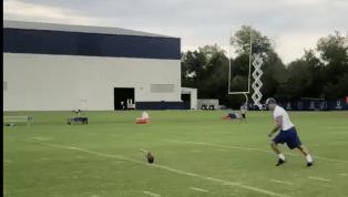 VIDEO: Adam Vinatieri Hitting a 70-Yard Field Goal is Unreal