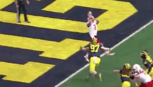 VIDEO: Michigan Gets Safety on Wild Turn of Events