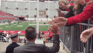 VIDEO: Urban Meyer Being Welcomed Back by Ohio State Fans Was Incredibly Lame