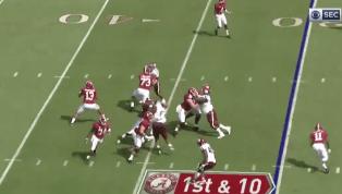 VIDEO: Watch Tua Tagovailoa Throw an Absolute Dart for Long Alabama TD