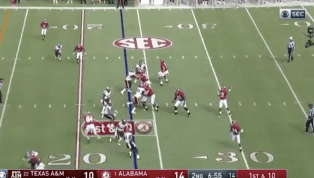VIDEO: Tua Tagovailoa Extends Alabama's Lead With Two More Touchdowns
