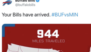 Disastrous Buffalo Bills Twitter Graphic Mistakes Minnesota for Wisconsin