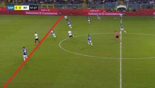 Sampdoria-Inter, giusto annullare i gol del Marassi. Ma c'è un errore sul fuorigioco di Candreva