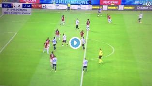 VIDEO | Milan 2-2 Atalanta: ecco la rete di Rigoni per il pareggio bergamasco a tempo scaduto