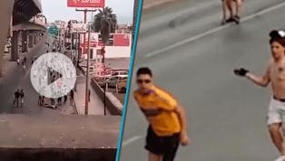 "HORRIBLE   La ""pandilla"" de Monterrey le propina una brutal golpiza a un aficionado de Tigres"