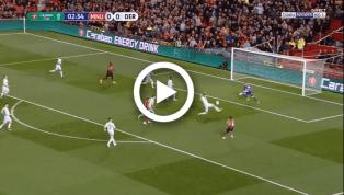 VIDEO: Mata cứa lòng hiểm hóc mở tỷ số trận đấu sau pha phối hợp như đá tập cùng đồng đội