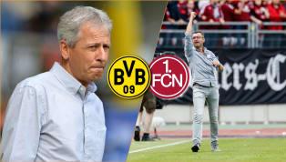 Borussia Dortmund - 1. FC Nürnberg | Die offiziellen Aufstellungen