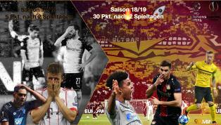 Plötzlich Spitze: Der starke Europapokal-Auftakt der Bundesliga
