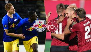 RB Leipzig - 1. FC Nürnberg | Die offiziellen Aufstellungen