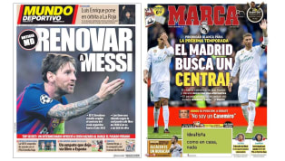 Los fichajes merengues y la renovación de Messi en las portadas