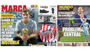 Las lesiones del Barcelona y las ilusiones de Griezmann en las portadas