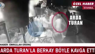 Video Emerges of the Night Arda Turan Broke Famous Turkish Pop Star's Nose and Issued Gun Threats