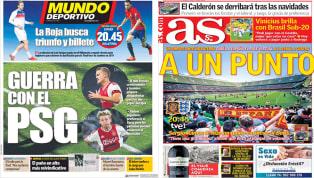 La guerra Barça - PSG y el España - Inglaterra en las portadas