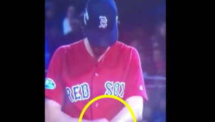 VIDEO: Fans Point Out Red Sox Pitchers Have Been Cheating With Pine Tar All Postseason Long