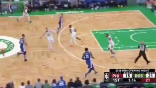 VIDEO: Ben Simmons Clearly Already in Midseason Form With Coast-to-Coast Drive