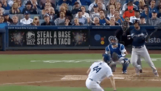 VIDEO: Domingo Santana Rocks Game-Tying RBI Double Off Rich Hill
